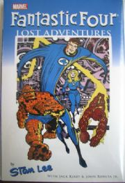 Fantastic Four Lost Adventures DM Variant Graphic Novel Premiere Hardcover HC Stan Lee Jack Kirby